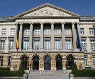 парламент brussels Стоковая Фотография