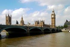 парламент london дома ben большой Стоковые Фотографии RF