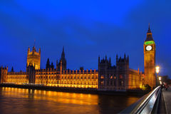 парламент london здания Стоковое Изображение RF