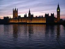 парламент london 03 домов Стоковые Изображения