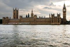 парламент london Стоковая Фотография