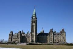 парламент s Канады Стоковое Изображение RF