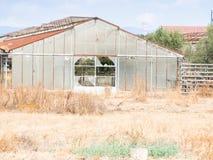 Парники покинули земледелие Стоковые Фото