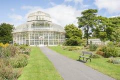 Парник в национальном ботаническом саде Стоковое Фото