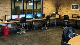 Парник томата офиса стола управления Стоковое фото RF