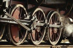 паровозы старая железнодорожная Украина Стоковое фото RF