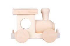 паровоз деревянный Стоковое Изображение