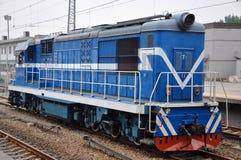 Паровоз железных дорог DF8 Китая тепловозный Стоковое фото RF
