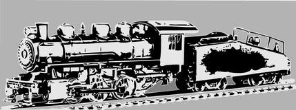 паровоз старый Стоковые Изображения