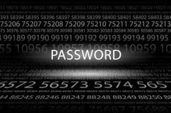 пароль иллюстрация штока