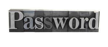 пароль Стоковая Фотография RF