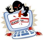 пароль hack Стоковое Фото