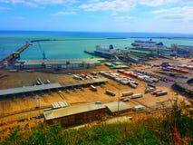 Паромный порт Дувра Стоковые Фото
