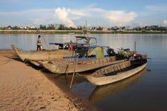 Паром в острове Trong Koh Стоковые Изображения