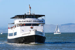 Паром круиза Сан-Франциско Alcatraz стоковое изображение
