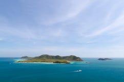 Паром к острову Стоковое Изображение
