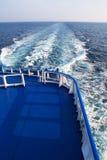 паром палубы Стоковые Изображения