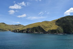 Паром через кашевара прямо в Новой Зеландии Стоковые Изображения
