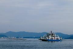 Паром Roro Японии стоковое изображение rf