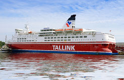Паром Tallink стоковые фото