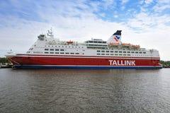 Паром Tallink стоковые фотографии rf