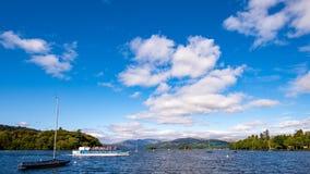 Паром Windermere озера: Госпожа Cumbria Стоковые Изображения RF