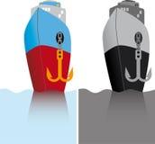 пароход бесплатная иллюстрация