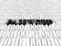 пароль Стоковая Фотография