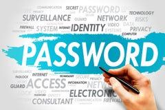 пароль Стоковое фото RF