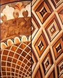 Партер элиты модульный Естественный деревянный настил с роскошными текстурой и картиной Взгляд сверху бесплатная иллюстрация