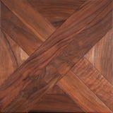 Партер элиты модульный Естественный деревянный настил с роскошными текстурой и картиной Взгляд сверху стоковое фото