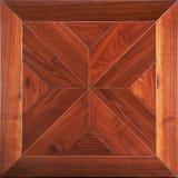 Партер элиты модульный Естественный деревянный настил с роскошными текстурой и картиной Взгляд сверху стоковое изображение rf