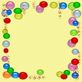 Партийный орган воздушного шара Стоковое Изображение RF
