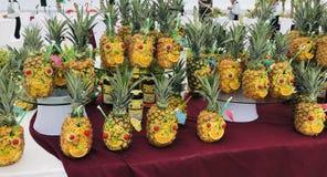 Партия ананаса стоковые изображения rf