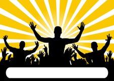 партия аудитории бесплатная иллюстрация