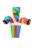 партия воздуходувок multicolor стоковое изображение
