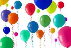 партия воздушного шара предпосылки Стоковые Фотографии RF