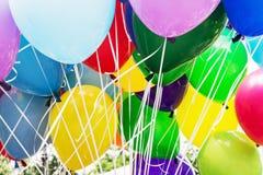 Партия воздушных шаров, досуг Стоковое Изображение