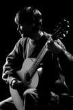 партия гитариста согласия Стоковые Изображения RF
