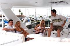партия гитары Стоковое Фото
