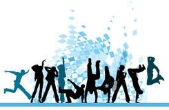 партия города урбанская иллюстрация штока
