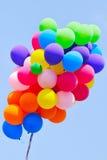 партия группы воздушных шаров Стоковое Изображение RF