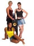 партия девушок Стоковые Изображения RF