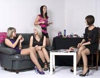 партия девушок Стоковое Изображение