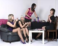 партия девушок Стоковое Фото