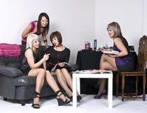 партия девушок Стоковая Фотография RF