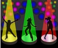 партия девушок Иллюстрация вектора