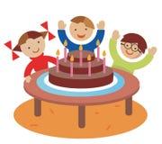 партия детей дня рождения Стоковые Изображения