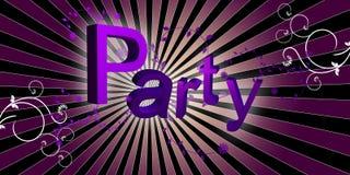 партия диско флористическая Стоковое фото RF