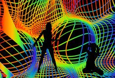 партия диско Стоковое Изображение